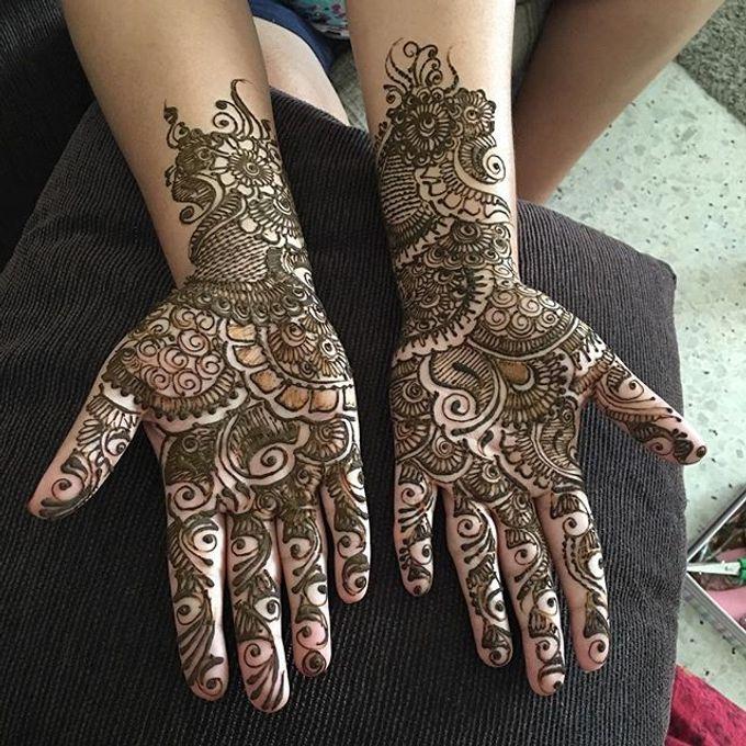 Bridal Henna - Intricate by Nakreze Mehndi - 027