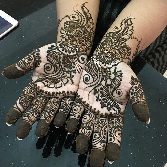 Bridal Henna - Intricate by Nakreze Mehndi - 024