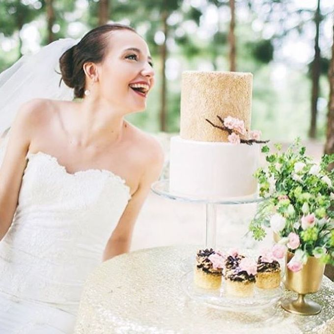 Wedding cakes by Delectable By Su - 013
