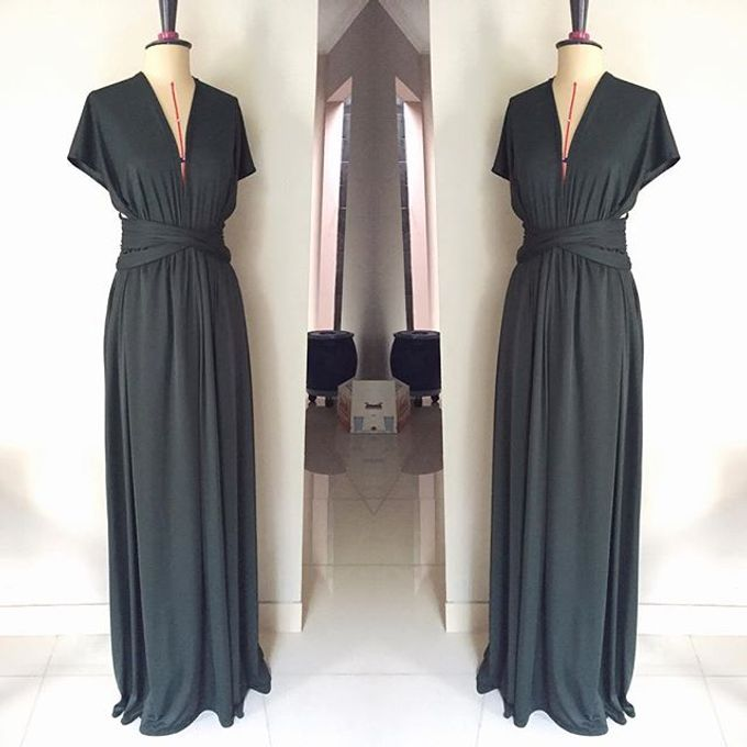 Convertible Bridesmaid Dress by The White Gallery - 004