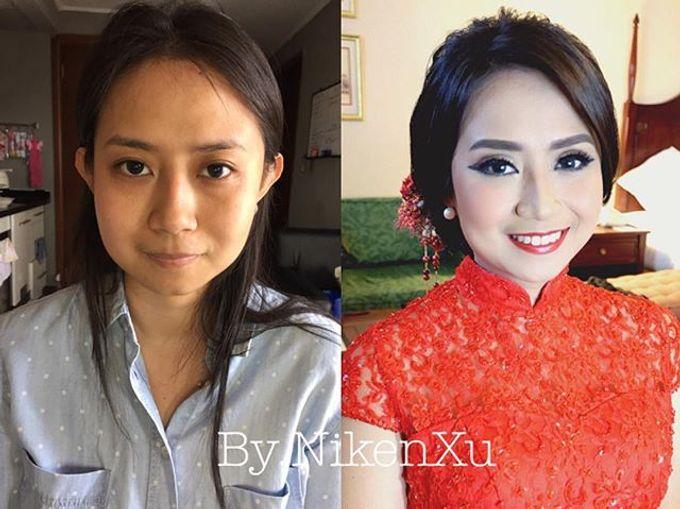 Wedding Makeup ,Mom ,Sister by Niken Xu Makeup Artist - 010
