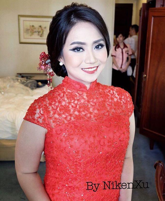 Wedding Makeup ,Mom ,Sister by Niken Xu Makeup Artist - 011
