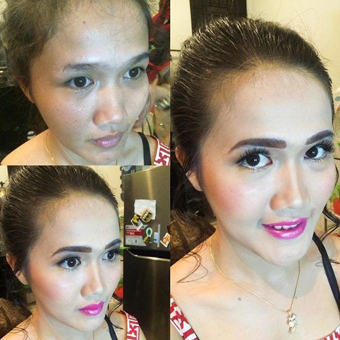 Bridesmaid makeup by RH Makeup - 003
