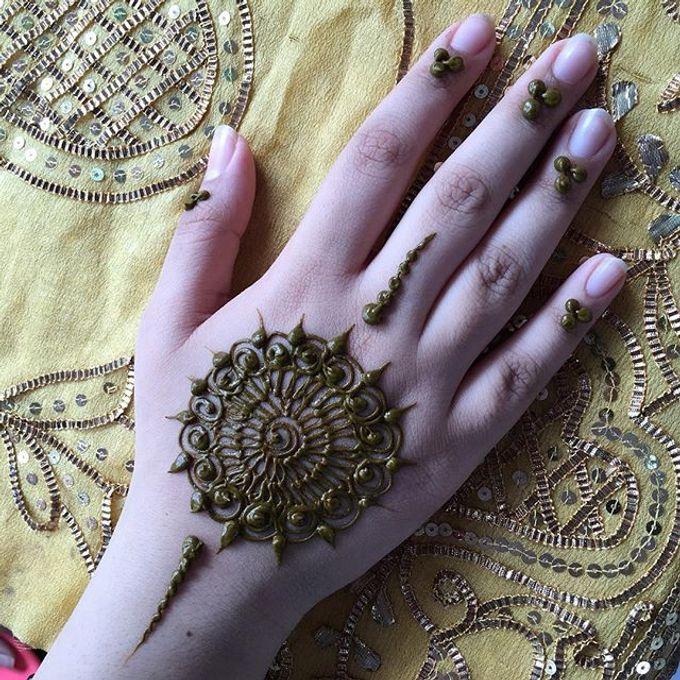 Henna for Events - Group  by Nakreze Mehndi - 006