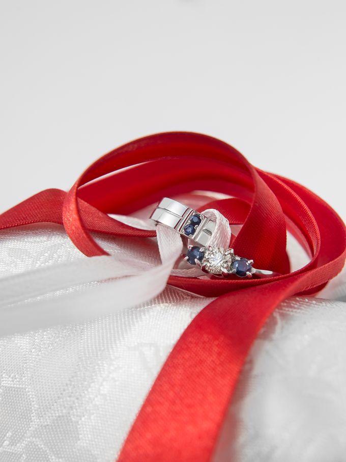 Sora wedding rings by Reine - 001
