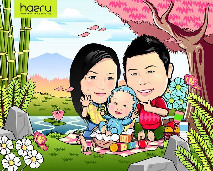 Premium Wedding Caricature by haeru Animation and Caricature - 005
