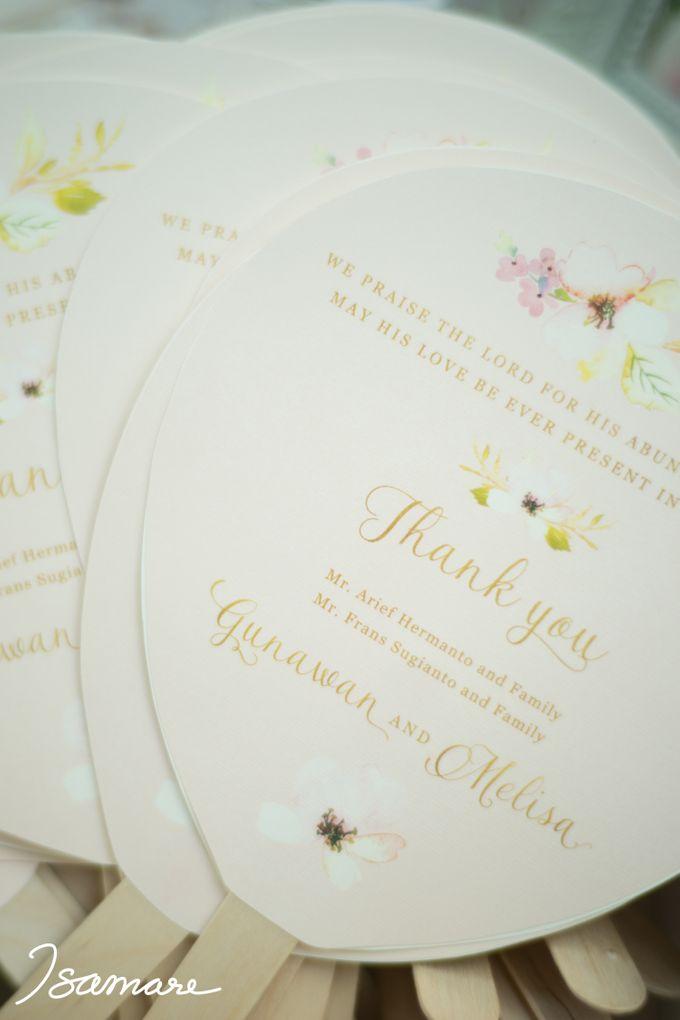 Gunawan & Melisa - Timeless Blush & Gold Wedding by isamare - 012