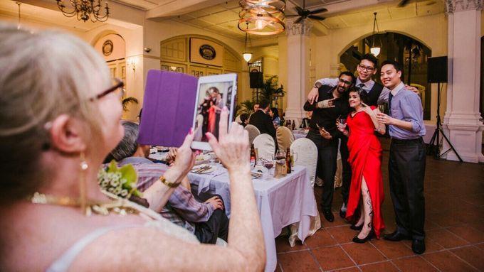 Wedding of Ian & Kelly @ Halia at Raffles Hotel by The Halia - 012