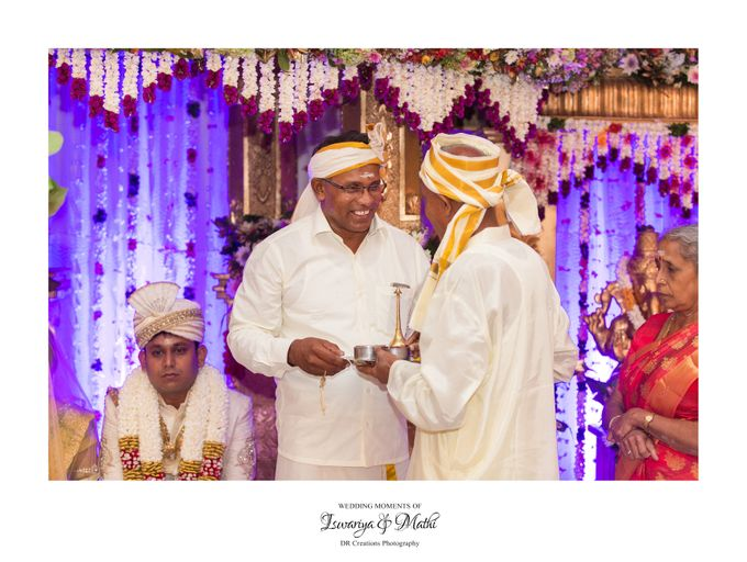 Wedding of Ishwariya & Mathi by DR Creations - 012