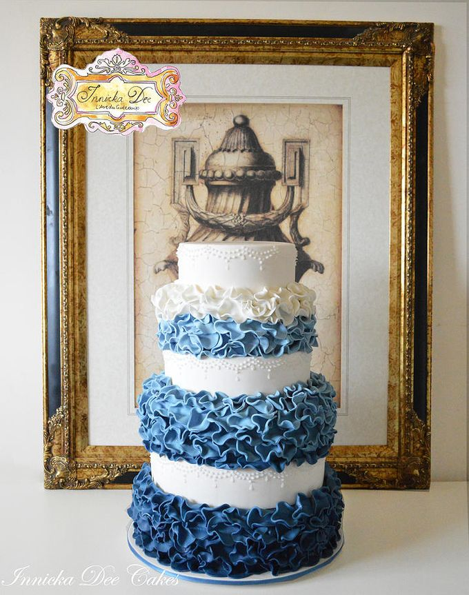 Wedding Cakes by Innicka Dee Cakes - 010