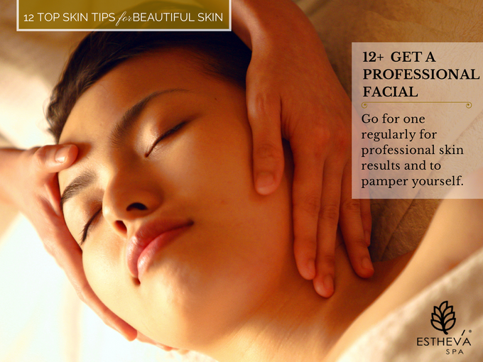 Top 12 Skincare Tips for Beautiful and Younger Skin by ESTHEVA Spa - 013