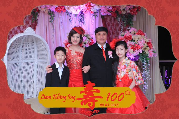 One Hundred Birthday of Liem Khing Ing by After 5 Photobooth - 004