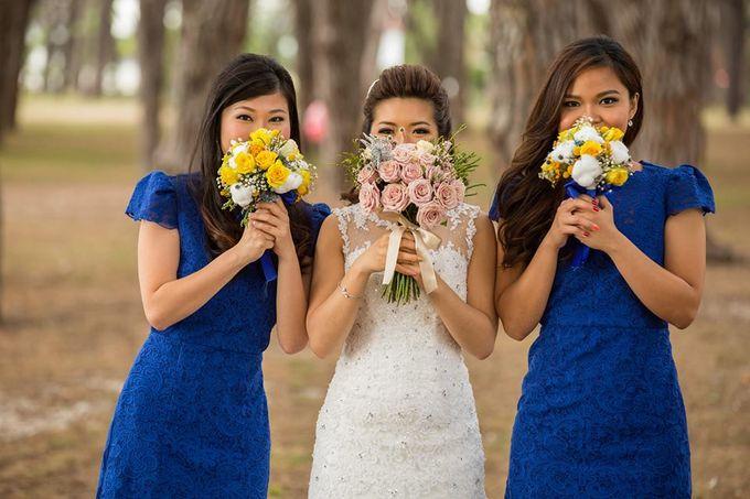 My amazing dream wedding by SS Florist - 007