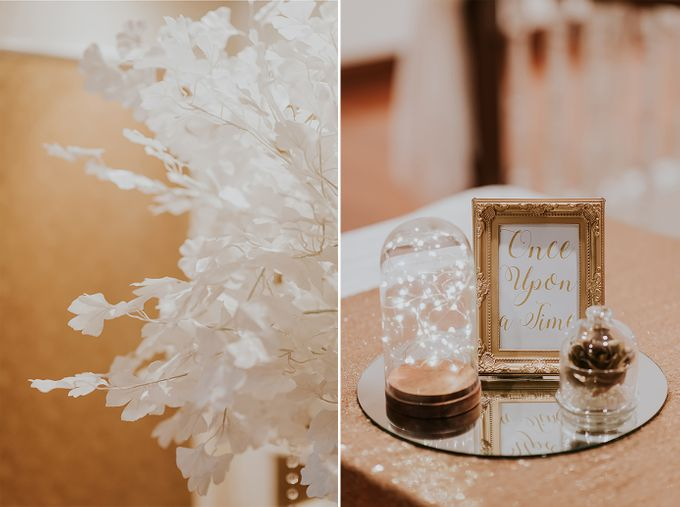 A Romantic with Classy Twist Wedding by InterContinental Singapore - 003