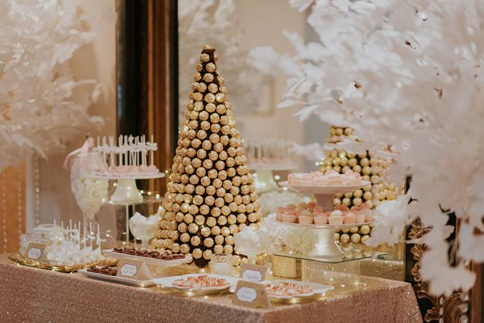 A Romantic with Classy Twist Wedding by InterContinental Singapore - 004