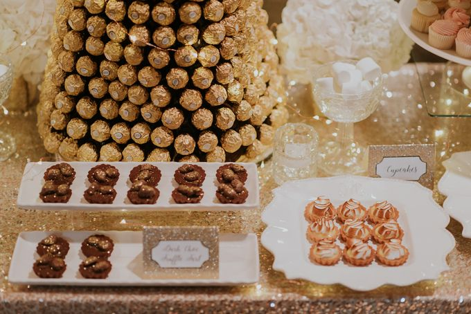 A Romantic with Classy Twist Wedding by InterContinental Singapore - 031