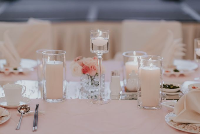 A Romantic with Classy Twist Wedding by InterContinental Singapore - 014