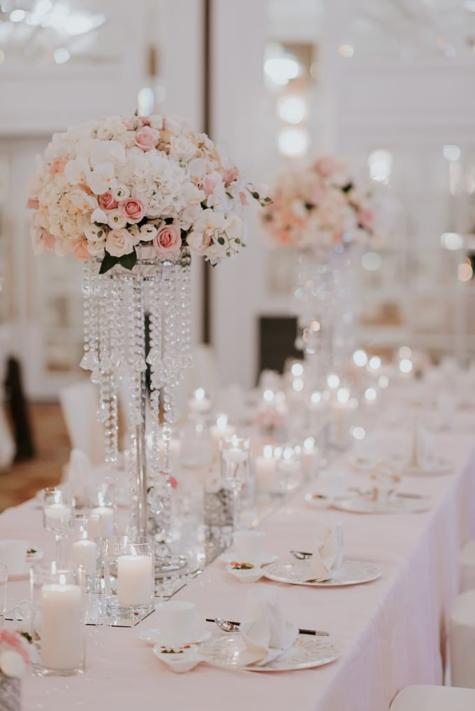 A Romantic with Classy Twist Wedding by InterContinental Singapore - 015