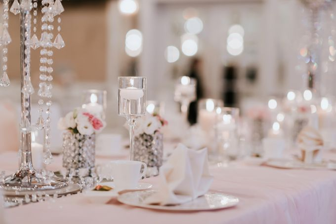 A Romantic with Classy Twist Wedding by InterContinental Singapore - 016