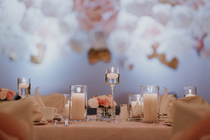 A Romantic with Classy Twist Wedding by InterContinental Singapore - 019