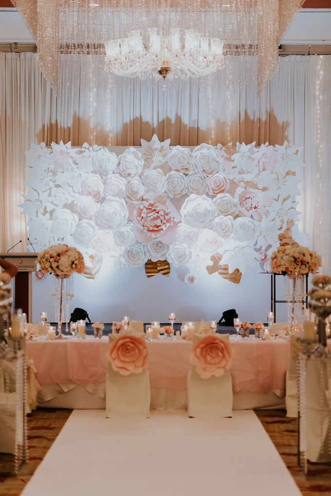 A Romantic with Classy Twist Wedding by InterContinental Singapore - 022