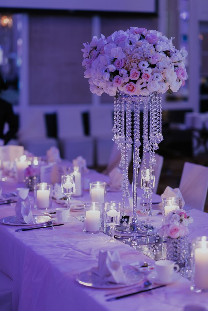 A Romantic with Classy Twist Wedding by InterContinental Singapore - 027