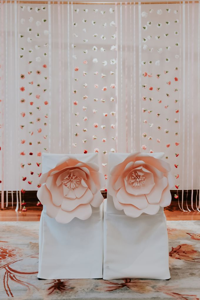 A Romantic with Classy Twist Wedding by InterContinental Singapore - 028