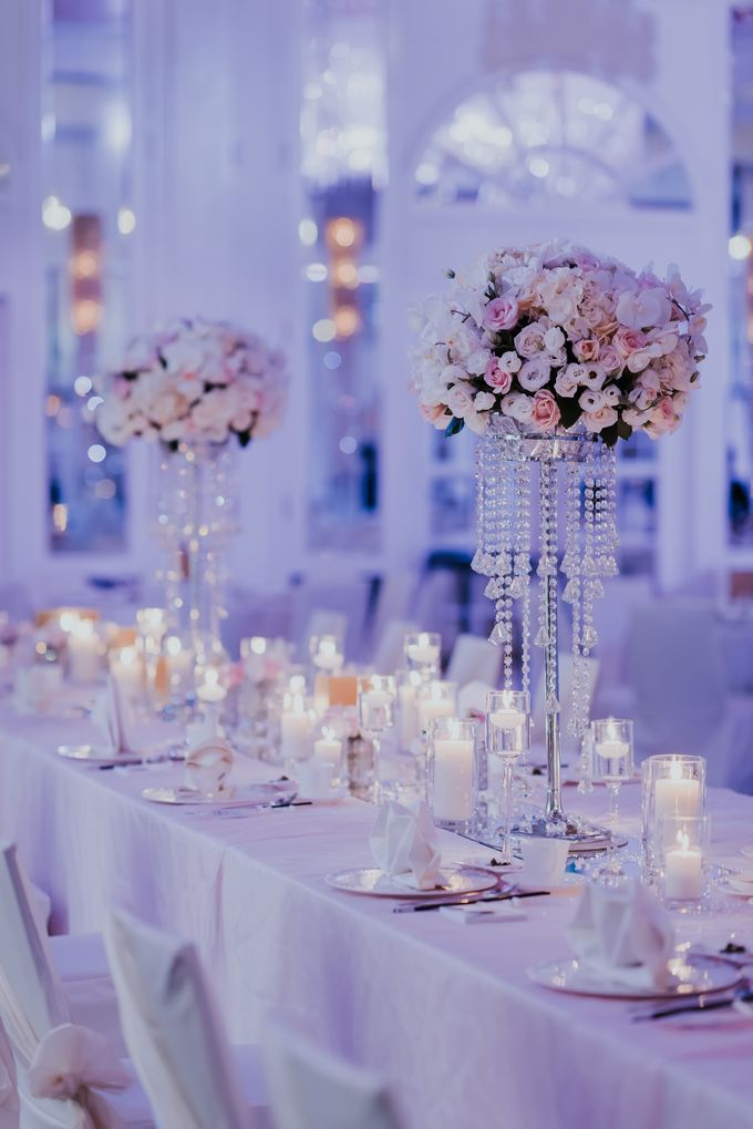 A Romantic with Classy Twist Wedding by InterContinental Singapore - 037