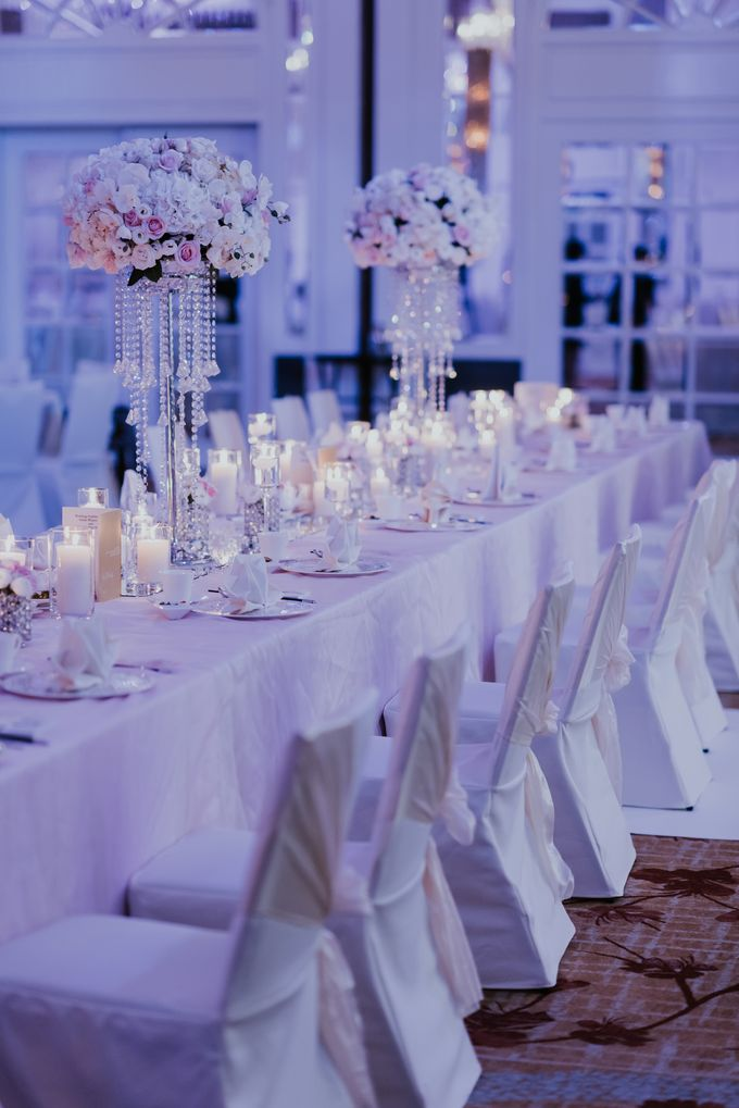 A Romantic with Classy Twist Wedding by InterContinental Singapore - 038