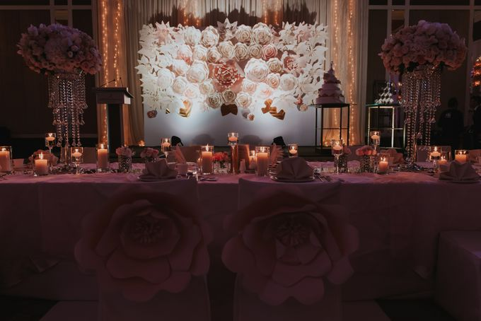 A Romantic with Classy Twist Wedding by InterContinental Singapore - 041