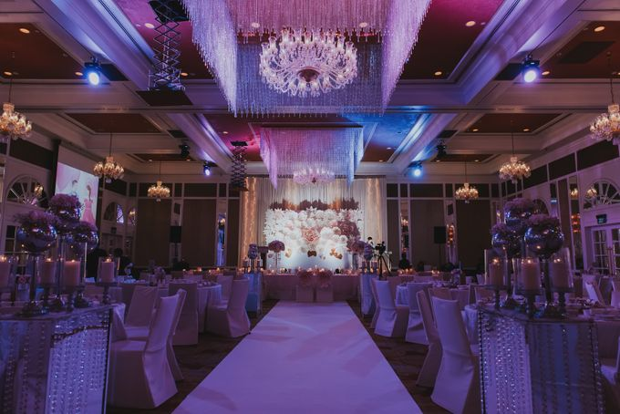 A Romantic with Classy Twist Wedding by InterContinental Singapore - 042