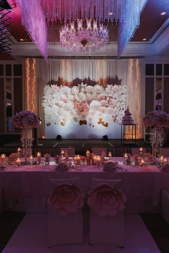 A Romantic with Classy Twist Wedding by InterContinental Singapore - 043