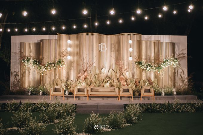 The Wedding of Budiman and Eunike by Elior Design - 008