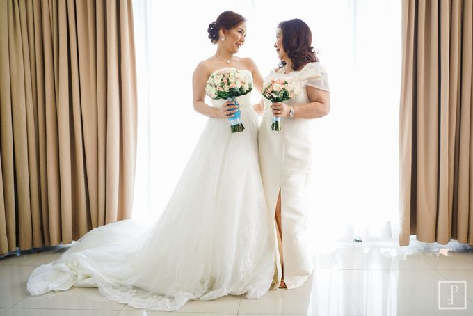 Blue Themed Wedding of CJ  and  Jane by Peach Frost Studio - 027