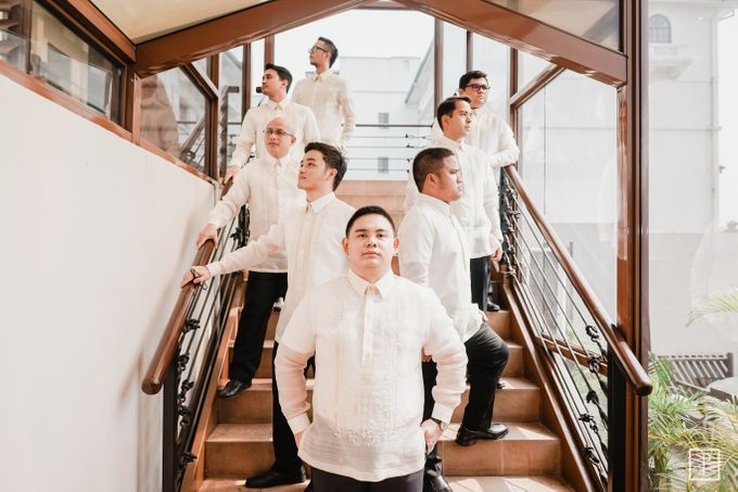 A Modern Filipiniana Wedding of Richie & Kyle by Peach Frost Studio - 031