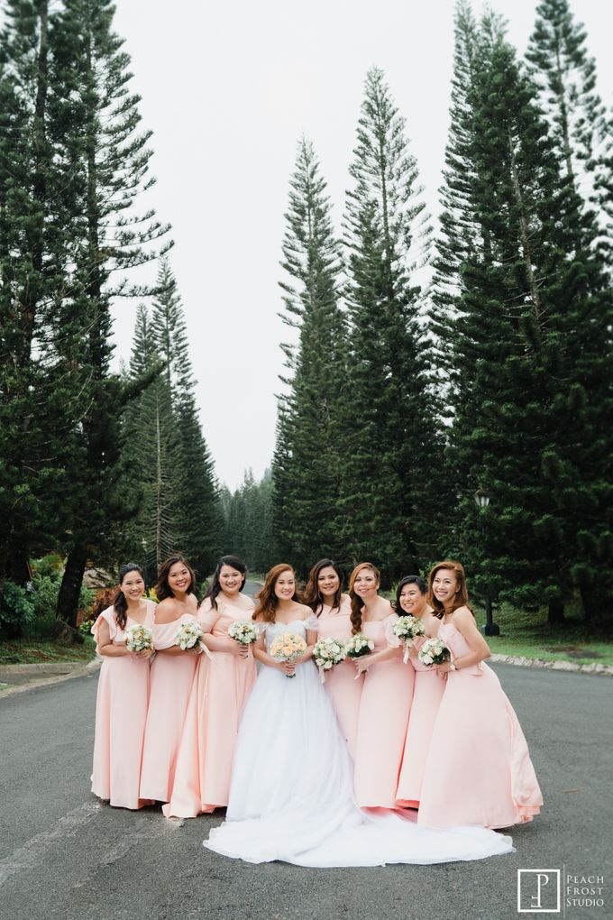 A Peach Themed Tagaytay Woodlands Wedding of Tina & Niel by Peach Frost Studio - 019