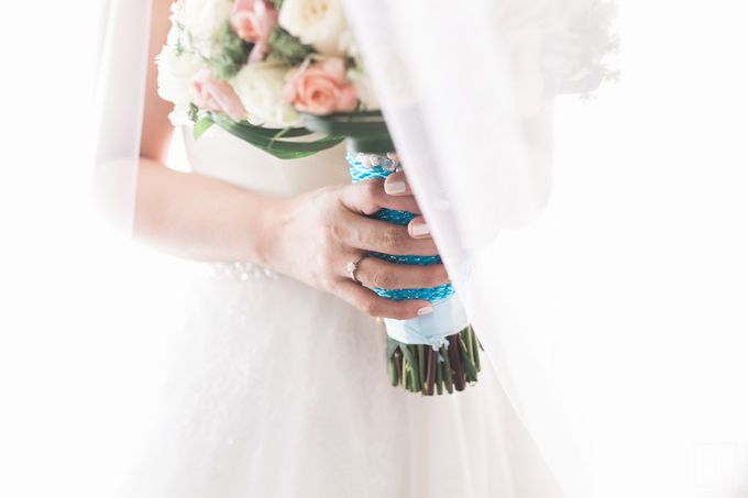 Blue Themed Wedding of CJ  and  Jane by Peach Frost Studio - 033