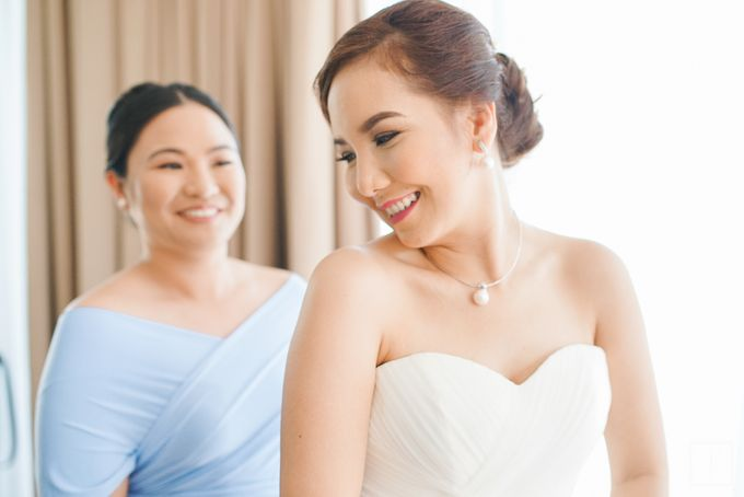 Blue Themed Wedding of CJ  and  Jane by Peach Frost Studio - 035