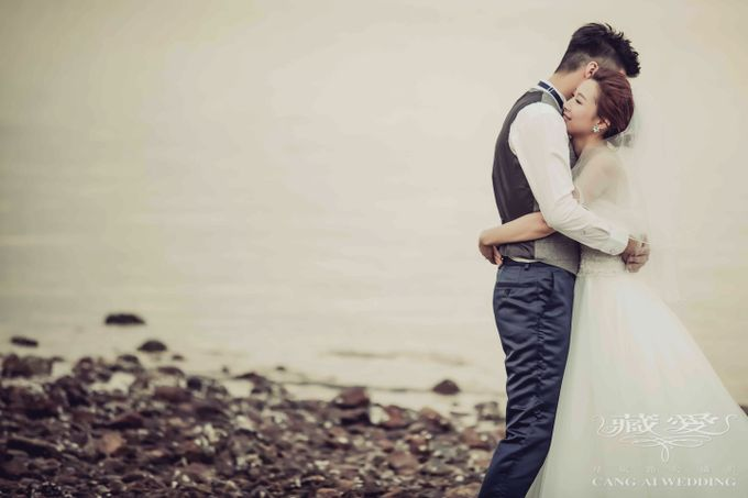 Streets of HK by Cang Ai Wedding - 006