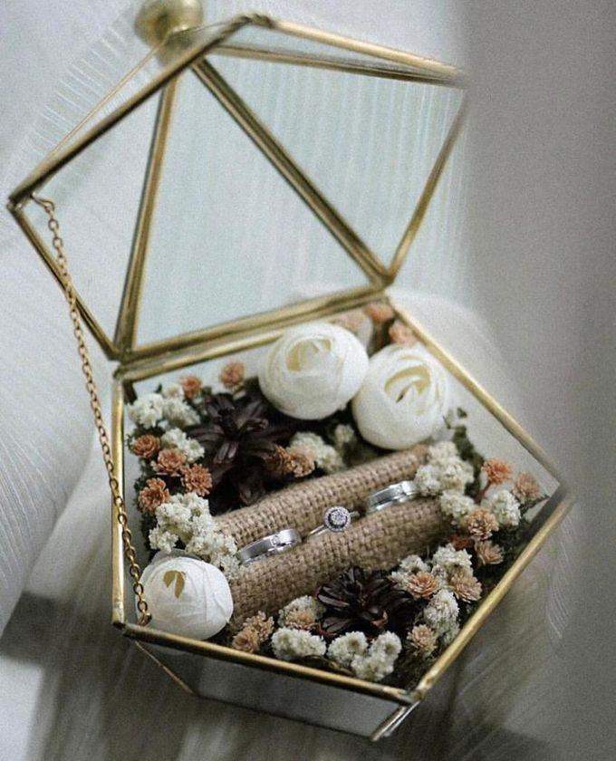 Ring Box by Rose For You - 013