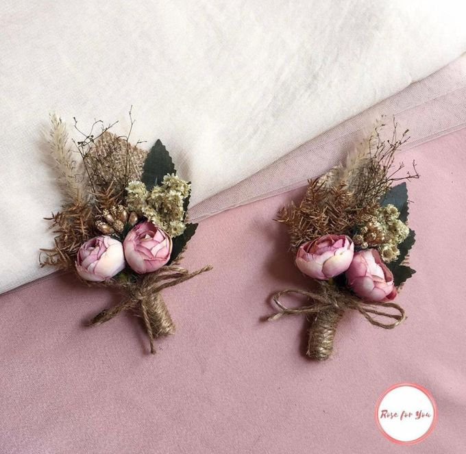 Boutonniere & Corsage by Rose For You - 013