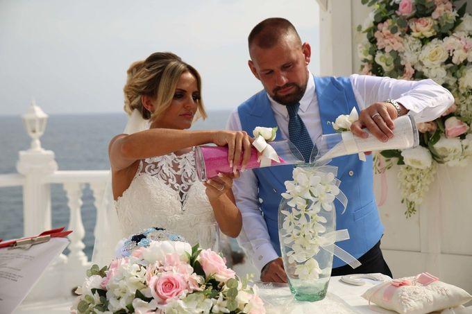 Mica & Ross British wedding by Wedding City Antalya - 013