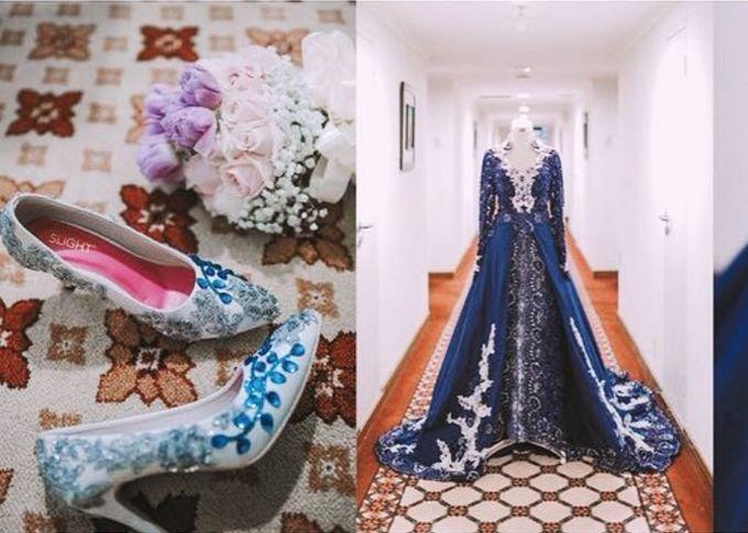 Blue color themed Wedding by SLIGHTshop.com - 002