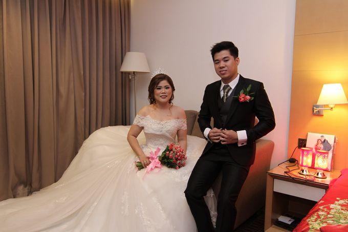 Wedding party of David and Shu Li at Angke Restaurant by JJ Bride - 003