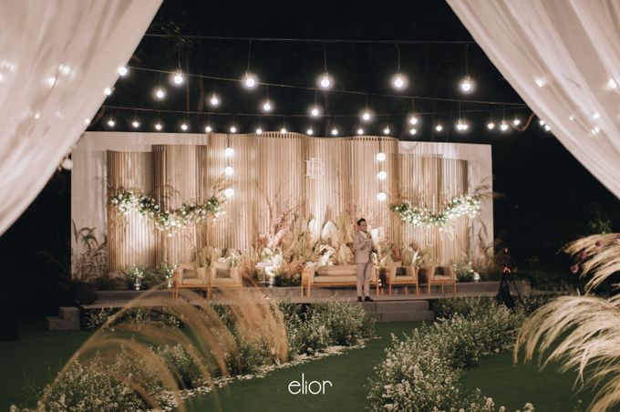 The Wedding of Budiman and Eunike by Elior Design - 001