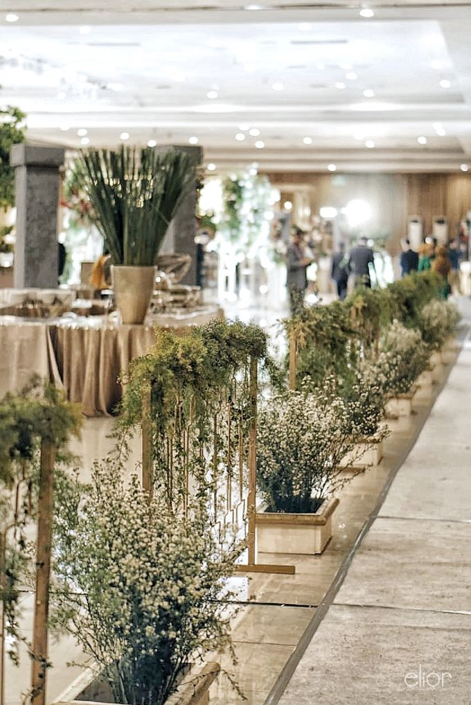 Simple Meets Elegant in This Dreamy Wedding Celebration by Elior Design - 022