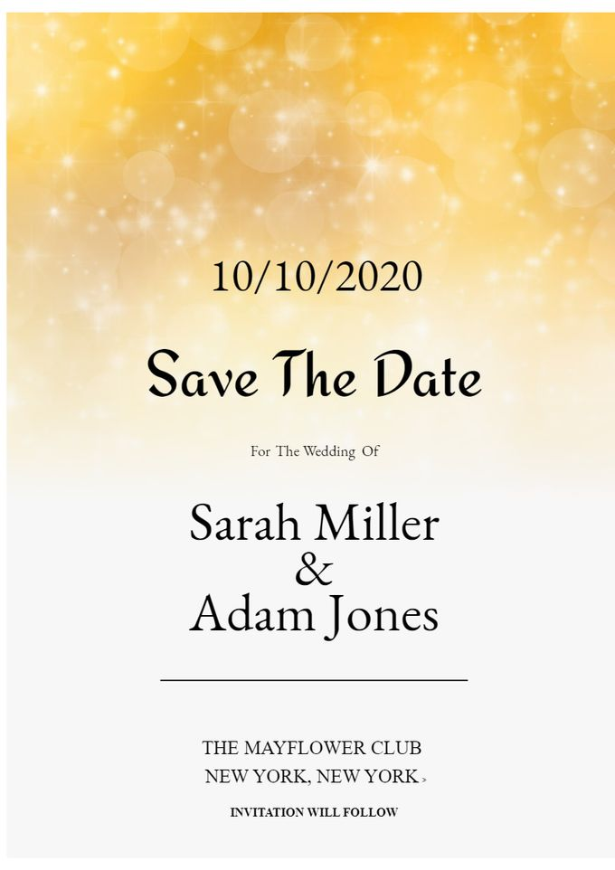 save the date by Save The Date - 005