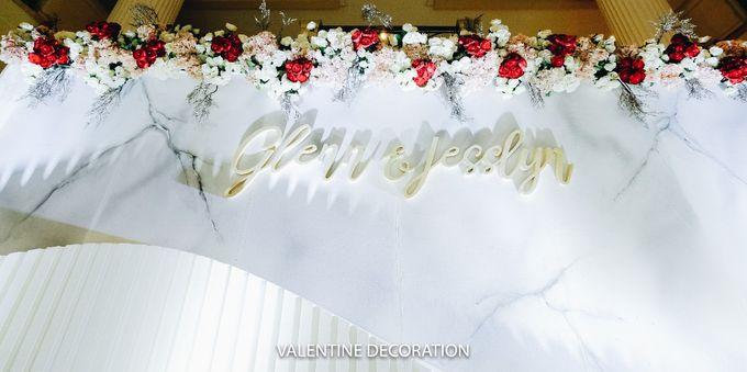 Glenn & Jesslyn Wedding Decoration by Valentine Wedding Decoration - 013