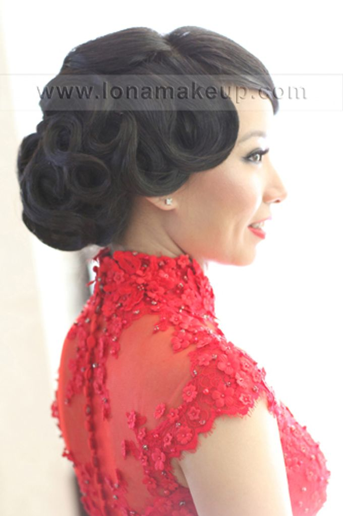 Bridal Hair by Lona Makeup - 004