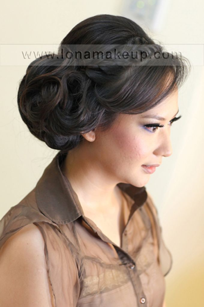 Bridal Hair by Lona Makeup - 005